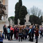 Стажировка в Риме, март 2011