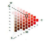 Цветовой треугольник NCS