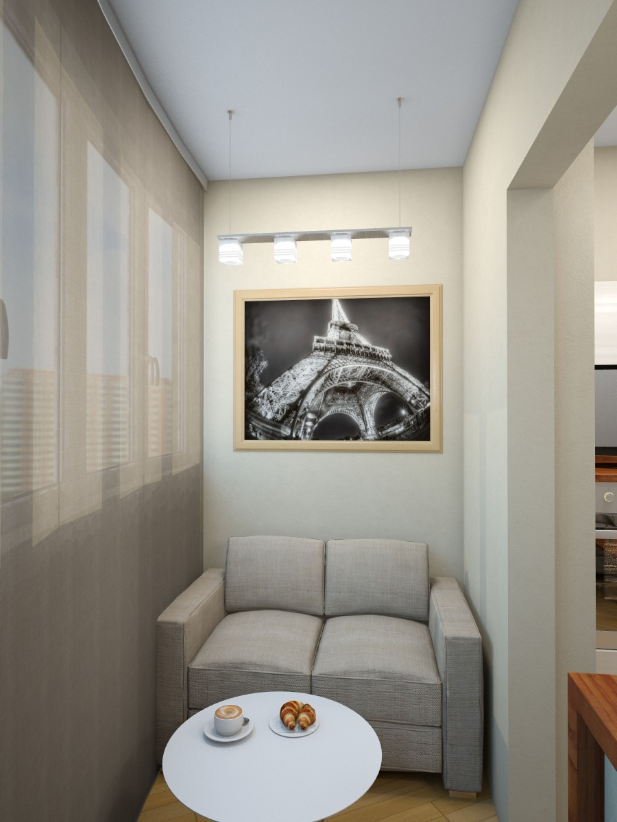 Дизайн балкона 3 метра фото современные идеи