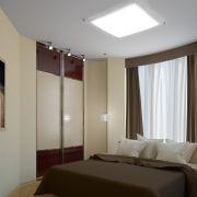 Проект двухкомнатной квартиры в Москве 57 кв. м.  Комната родителей