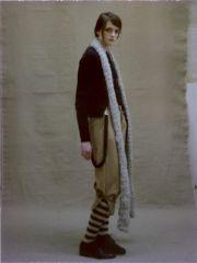 Томоко Яманака: новая английская коллекция с японской эксцентрикой (зима 2013)