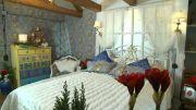 Марина Иноземцева: спальня в морском стиле в передаче «Фазенда»