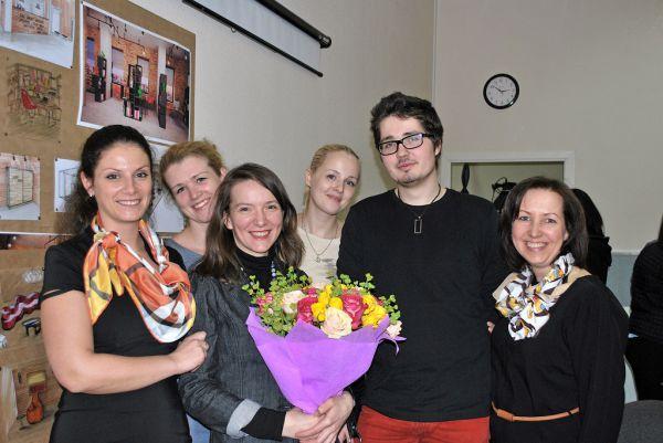 Защита дипломов по Дизайну интерьера (19 февраля 2014)