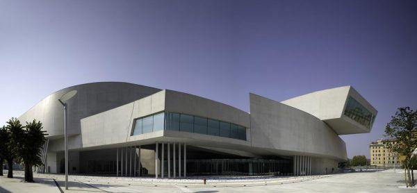 Музей Современного Искусства MAXXI, построенный Захой Хадид