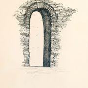 Традиционная кирпичная кладка, оформление окна или портала