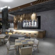 Мила Наговицына: дизайн-проект интерьера ресторана «SHURIKEN». Высшая оценка!