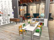 Ольга Шевцова  и ее дипломный проект — интерьер ресторана «Mose»
