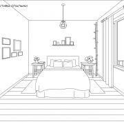 «Дом на севере» – дипломный дизайн-проект Марины Дорониной