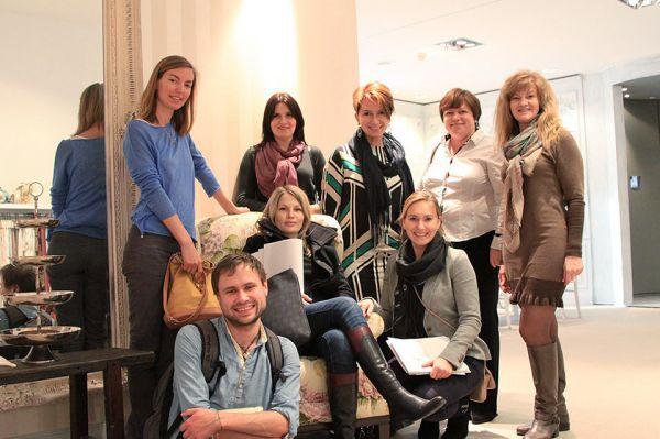 Участники стажировки в концерне JAB (Билефельд, Германия, 2014)