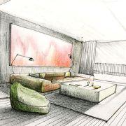 «Креативный скетч II. Рисуем предметы интерьера – бестселлеры дизайна»