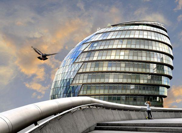 Здание лондонской мэрии Сити-Холл