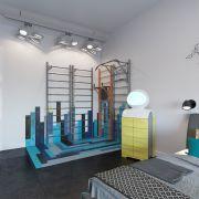 Фрагмент дипломного проекта Юлии Ларионовой – интерьер квартиры «Проект номер 1»