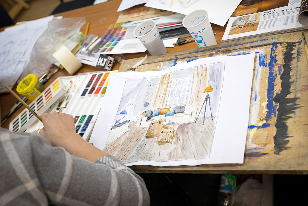 Обучиться на дизайнера интерьера