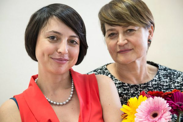 Людмила Верба и её мама