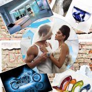 Фрагмент проекта «Мужчина и Женщина» (концепт-борд). Дизайнер: Сергей Рынденкин