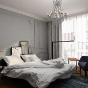 Фрагмент дизайн-проекта «Парижская квартира» (дизайнер: Анна Гусева)