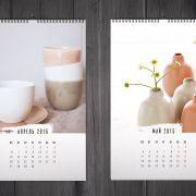 Фрагмент фирменного стиля мастерской керамики Your Ceramics (дизайнер: Евгения Лесникова)