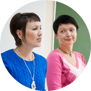 Анна Шмарова и Ольга Сурнакина