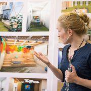 Защиты дипломных проектов в Международной Школе Дизайна
