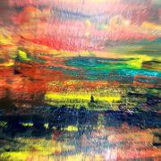 Крупноформатная акриловая живопись для интерьера