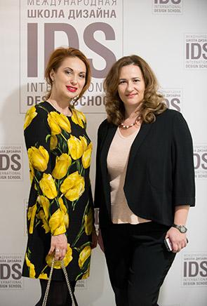 Дизайнер Елена Илле и PR-менеджер IDS Наталья Ионова.