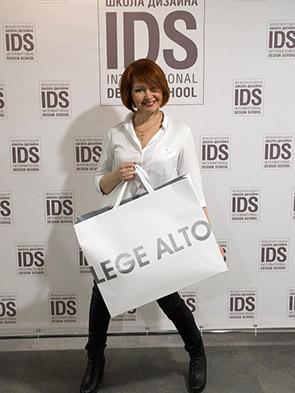 Выпускница IDS Елена Целищева.