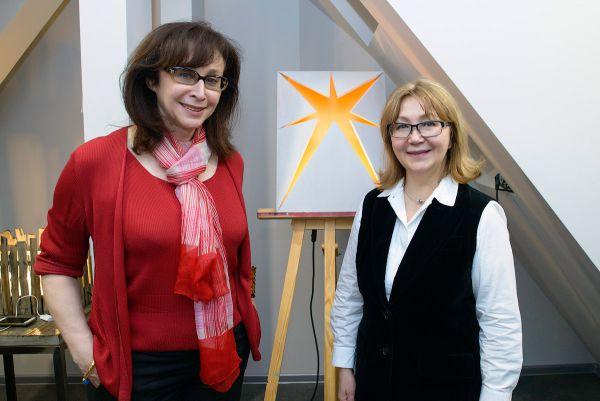 Президент IDS Надежда Лазарева и Продюсер ТВ-передачи «Фазенда» Маша Шахова