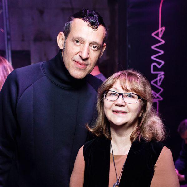 Карим Рашид и Надежда Лазарева