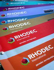 10-томный британский учебник-справочник по дизайну интерьера Rhodec International