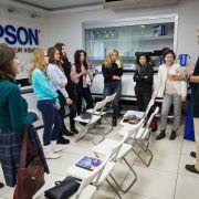 Практика – наше все: студенты IDS отрабатывают навыки в Epson!
