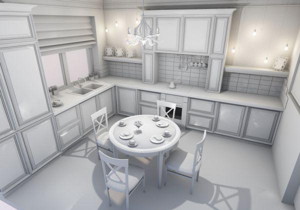 Конструирование кухни в  Archicad 21