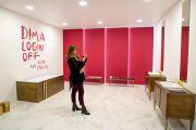 Авторская инсталляция Димы Логинова для MosBuild Bathroom Biennale