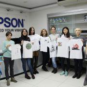 «Оживляем» работы наших студентов на практических занятиях в Epson!