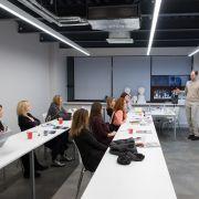 Алексей Дорожкин провел занятие для наших студентов