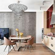 Квартира на Остоженке по проекту Майка Шилова
