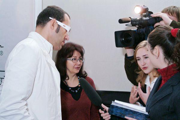 Карим Рашид, Надежда Лазарева, Елена Лазарева