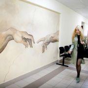Роспись стен МГУ