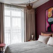 Интерьер для девушки в типовой квартире (дизайнер: Илья Гульянц)