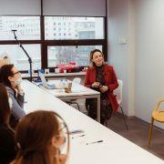 Бренд-ангел в гостях у студентов IDS: мастер-класс Маргариты Морозовой